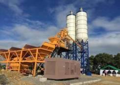 Бетонный завод HZS75 производительностью 75 м3/час