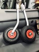 Транцевые колеса удлиненные быстросъемные от магазина Усадьба