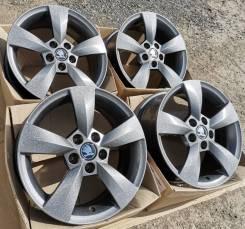 Новые литые диски Carwel на Skoda Rapid, Octavia Tour, VW Polo R15