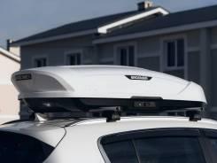 Автобокс (бокс на крышу) Broomer Venture (L) 430 л, Белый глянец