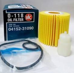 Фильтр масляный VIC O118, OEM 041523109079, 0415231090, Япония
