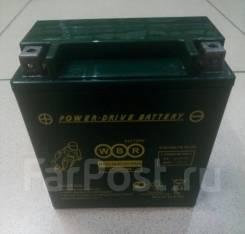 Мото аккумулятор WBR MT 12-18-А (YTX20H) 18Ач AGM