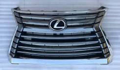 Решетка радиатора Lexus LX 450d/ 570 2015 год - н. в/ под камеру