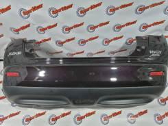 Бампер задний Nissan Juke NF15 2013 цвет GAB фиолетовый №63 В Идеале