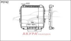 Радиатор охлаждения двигателя основной Toyota Hilux SURF 1989- P0742