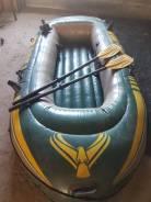 Продам двухместную резиновую лодку