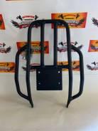 Багажник металлический с ручками Honda XR250/400 черный (UK)