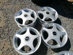 Made in Korea R14 4x100 4x114,3 5.0J ET45 4шт Alexia Butzi Alesia