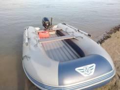 Лодка Флагман 350 с мотором 9.8лс