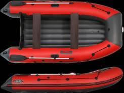 Лодка ПВХ под мотор REEF - 340 НДНД ЦВЕТ СИНЕ-Серый