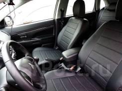 Авточехлы модельные для Mitsubishi ASX / RVR 2010-2018г (Экокожа)