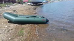 Лодка ПВХ Тайга 320 килевая с доп оборудованием