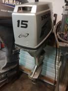 Лодочный мотор Honda BF15 из Японии!