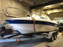 Продам каютный катер Одиссей 530 с мотором Tohatsu 70 и прицепом