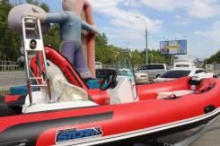 Лодка риб Stormline Luxe 420 с консолью