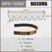 """Ремень ручейковый """"Masuma"""" 6PK-1050"""