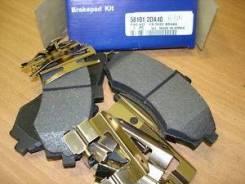 Колодки тормозные передние елан/матр -2DA40 Hyundai-KIA 581012DA40