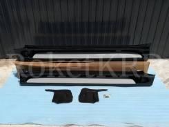 Подножки Land Cruiser Prado 150 Черные Modellista
