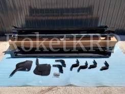 Подножки (пороги) Toyota Land Cruiser Prado 150 Черные