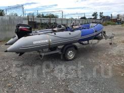 Продам лодку ПВХ Aquilon 480 + прицеп