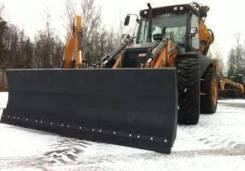 Отвал снеговой для экскаватора-погрузчика