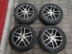Комплект колес 4Х100, 175/65/14 Racing+Dunlop