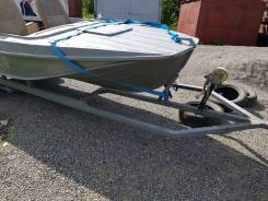 Продам лодку казанка 5М с мотором Honda 50