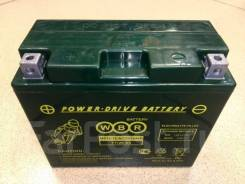Мото аккумулятор WBR 12-12-A (YTX14-BS, YTX12-BS) 12Ач AGM