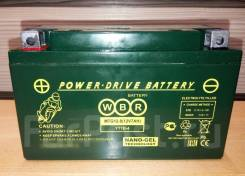 Мото аккумулятор WBR 12-8 (YT7B-4, YTX7B-4) 7Ач AGM