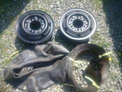 Диски грузовые Япония R16; 5,5J; 6x170, кольцевые с камерами и флиперо