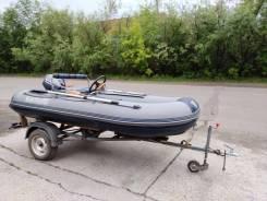 Продам комплект: лодку Флагман 350 и мотор Sea Pro 9.9