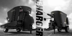 Вертикальный смеситель-кормораздатчик Celikel Charger V8 Single