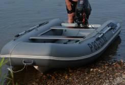 Лодку РИБ с 4-х тактным мотором 20 сил