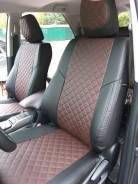 Авточехлы модельные для Toyota Fortuner II 2015г+ (РОМБ)