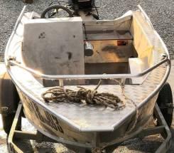 Продам алюминиевую моторную лодку