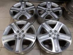 """Оригинальные литые диски Suzuki 17"""" (5*114.3) 6.5j et+45 цо60.1мм"""