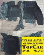 Коврики в салон Toyota Crown 2012 - 2018 год 3D Эко кожа