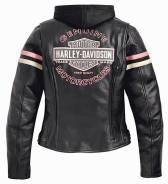 Мото Куртка кожаная Harley Davidson женская (48-50)