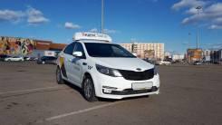 Аренда авто под такси Kia Rio 2016 год. ГБО/Яндекс Такси в Казани