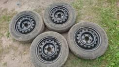 Комплект колёс 5/100 195/65R 15 Ханкок