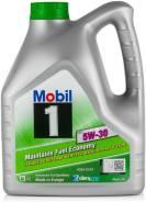 Моторное масло Mobil 1 ESP 5w30 SN/CF 4л, синт, бесплатная замена