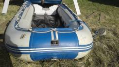 Продам лодку пвх длина:4метра30сантиметров с мотором25сил