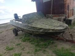 Продам хорошую лодку с 4х тактным мотором