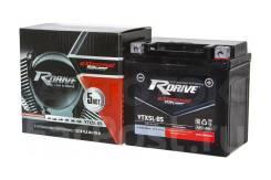 Мото аккумулятор RDrive Silver YTX5L-BS (YT5L, GTH5L) 4.2Ач AGM