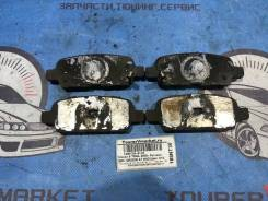 Колодки тормозные задние Nissan x-trail NT30 QR20