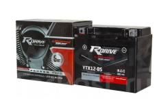 Мото аккумулятор RDrive Silver YTX12-BS (YT12B, YTX14) 10.5Ач AGM