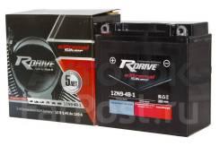Мото аккумулятор RDrive Silver 12N9-4B-1 (YB9-B, YB9-A2) 9.4Ач AGM