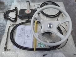 Комплект дистанционное плюс рулевое управление мотора для ПВХ лодок