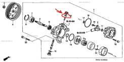 Кольцо уплотнительное, Honda 91347-PLA-003