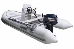 Надувная лодка Адмирал (Admiral) RIB 410 с консолью
